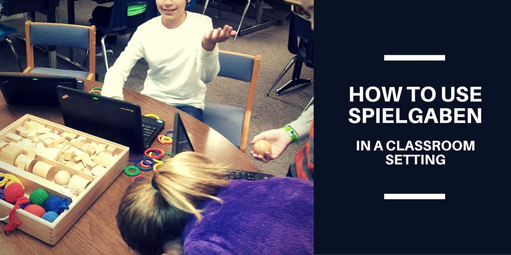 How to use Spielgaben in a classroom setting