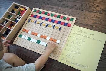 Introducing Basic Patterns to Preschool Children