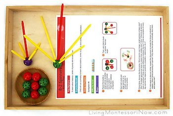 Montessori Symmetry Spinner Activities