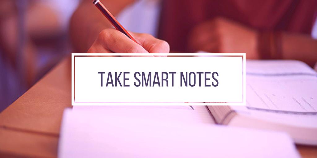 Take Smart Notes